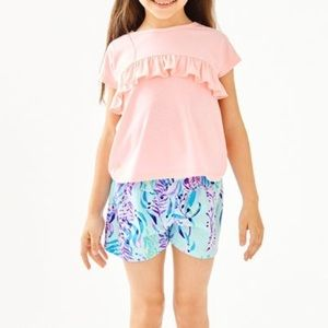 NWT Lilly Pulitzer girls petal top